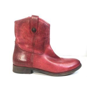Frye 3477908 Melissa Button Women Short Boots 10 B